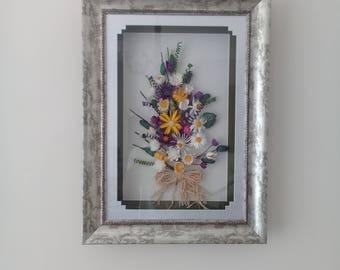 Wall Decor, Cocoon Flower Decor, Dyed Silk Cocoons, Dyed Silk Cocoons Flowers, AltinWorkshop Special Design