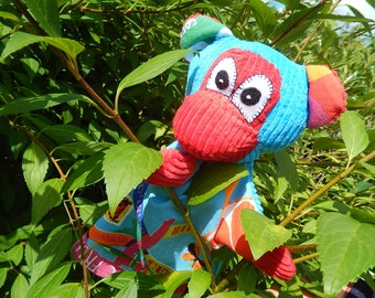 Unique monkey hand puppet - only one
