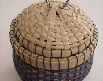 Little Lidded Basket Pattern