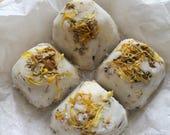 Shower bombs / shower steamers / lavender neroli jasmine / bergamot sandalwood ylang ylang / spa / natural / organic