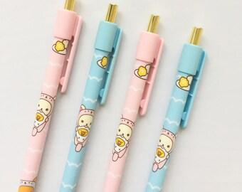 Rilakkuma Mechanical Pencils - Slim Design - Cute School Supplies - Kawaii Stationery - Gift For Her - Rilakkuma Gift - San-X - Cute Gifts