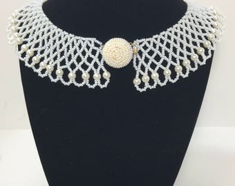 50% OFF | 1940s | Vintage Choker | faux pearls