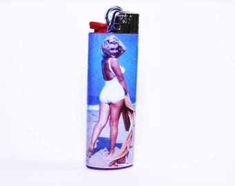 Marilyn Monroe Bic Lighter - Unique - High Quality