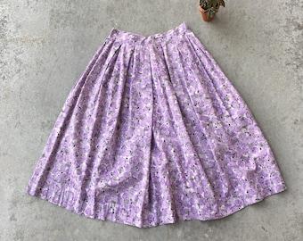 1950's Novelty Print Circle Skirt