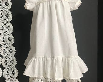 Vintage 1950 Baby Doll Gown / Dress