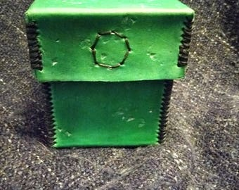 Leather Deck Box