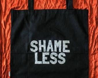 Shame Less Feminist tote