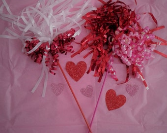 Valentine Sparkles Cat Wand Toy