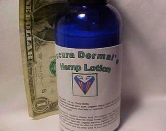 Accura Cosmetic's Hemp Lotion  3.4 oz. Pump Bottle