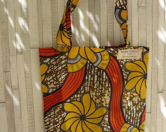 Cotton tote bag Costa wax worn shoulder