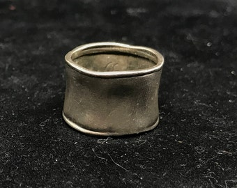Vintage Israeli Sterling Silver Didae Ring MARKED