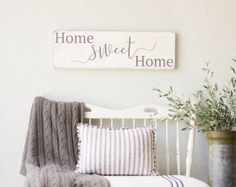 Home Sweet Home sign, home sweet home, home signs, sweet home sign, home sweet home wood sign
