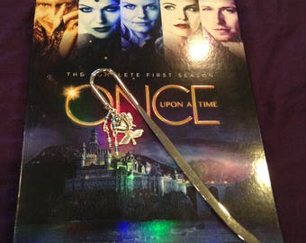 Belle Once Upon A Time Bookmark
