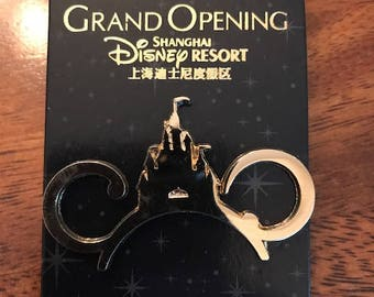 Shanghai Disney Resort Grand Opening Pin Limited Release