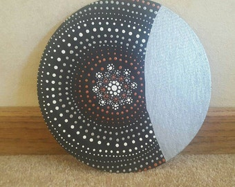 Mandala Round Canvas