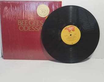 Vintage Bee Gees Odessa Collectors Edition Record Vinyl 1976