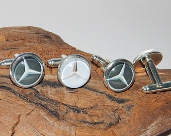 Mercedes benz patch etsy for Mercedes benz earrings