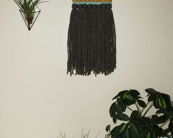 Small Woven Wall Hanging / Tapestry / Modern Weaving / Home Decor