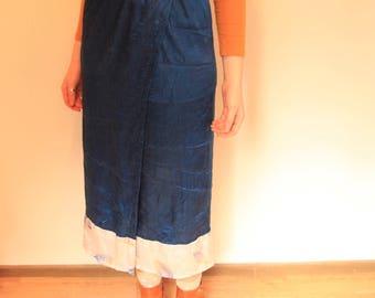 Mermaid Dream Skirt - Silky Ocean Blue (AU 8-10)