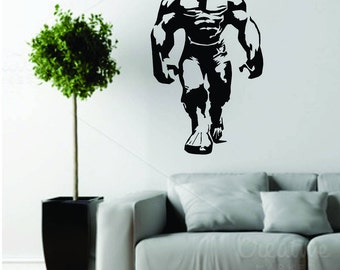 Hulk Wall decal - Black matte Vinyl