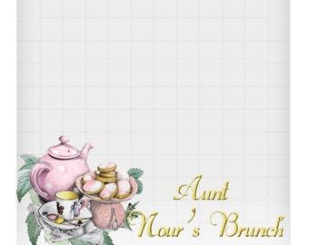Tea party or brunch geofilter