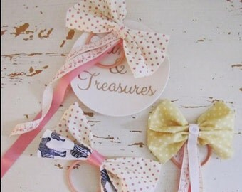 Retro Cutie Hair bows