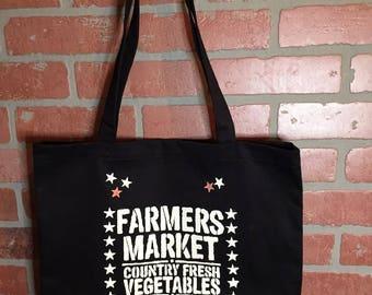Farmers market Organic Tote bag