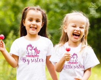 Sisters shirts sister shirts big sister little sister outfits big sister little sister shirts sister shirts unicorn pink sister shirts pony