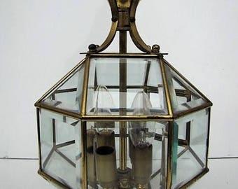 Lantern shaped polyhedron Art Deco style Adolf Loos.