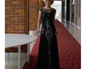 Black Swan Evening Dress