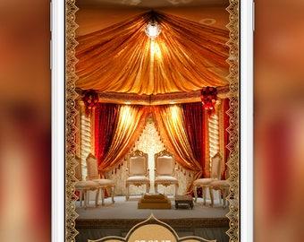 Wedding Reception Snapchat Geofilter: Wedding Event | 4 Hour Turnaround Time | Custom Options Available | SKU# TLNLRWF03