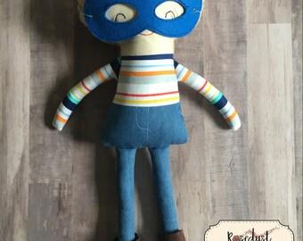 Boy Rag Doll- Superhero Doll version 2