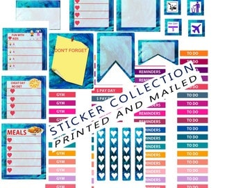 planner sticker kit february, plannerstickers, plannersticker kits, sticker sheet for planner, sticker collection, sticker pack, stickers