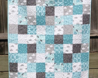 Handmade baby/ toddler quilt