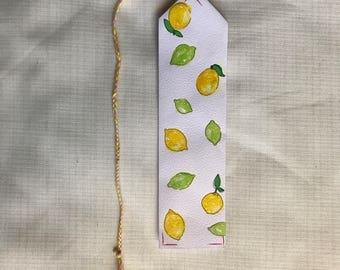 Lemon Lime Bookmark