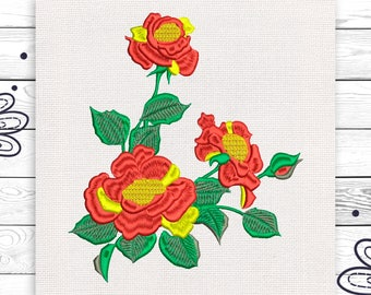 Bunch of flowers Discount 10% Machine embroidery design 4 sizes INSTANT DOWNLOAD EE5083