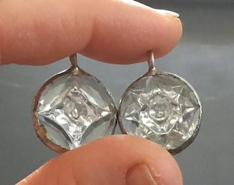 Vintage Clear West German crystal pendant