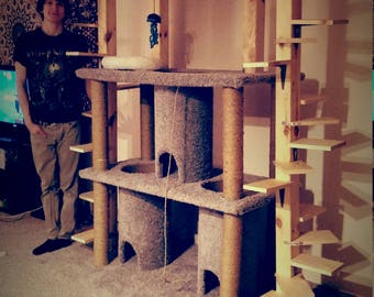 Spiral Staircase Cat Tree