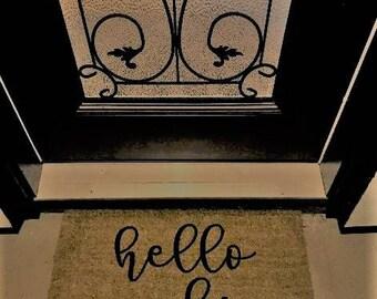 front door matFront door mat  Etsy