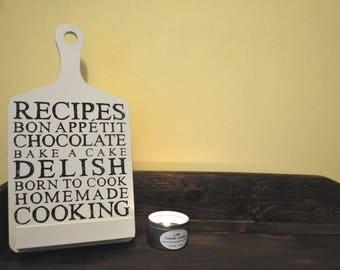 recipe sign kitchen sign recipe book holder tablet holder ipad holder - Recipe Book Holder