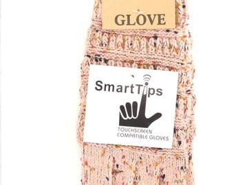 Blush Rose Smart Touch Gloves