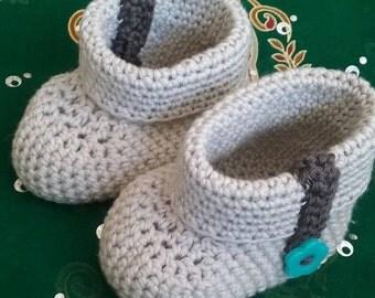 Crochet baby Bootie