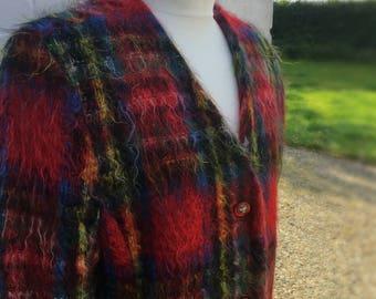 Vintage plaid Ganbree jacket.