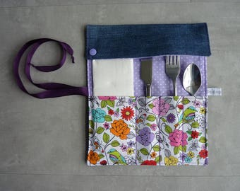 Case cutlery dominant purple recycled Jean Pocket