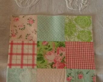 Napkin 33 X 33 cm patchwork of fabrics
