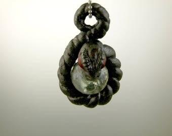 Coiled Snake Pendant