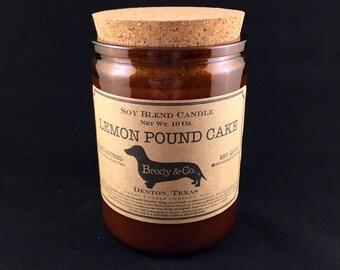 Lemon Pound Cake Candle
