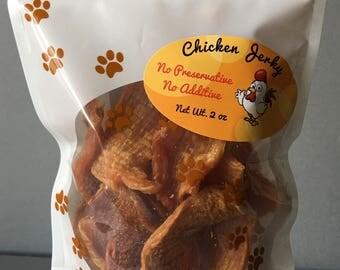 No Preservative Chicken Jerky Dog Treats