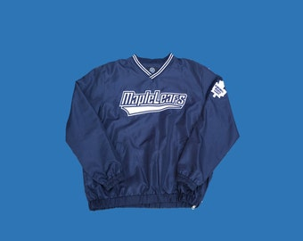 Vintage Toronto Maple Leafs Crewneck Jacket