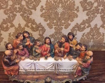 Last Supper Wall Hanging--Detailed Resin